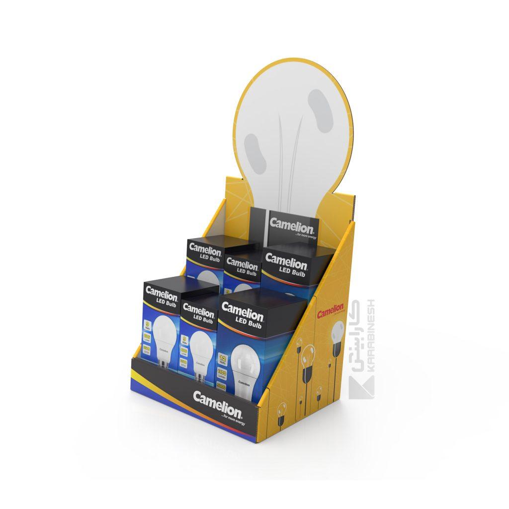 استندرومیزی لامپ کملیون