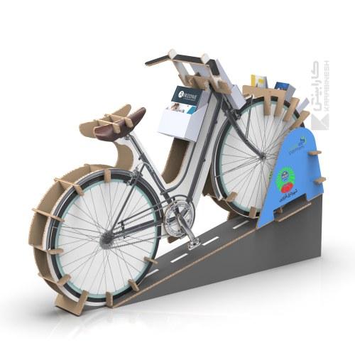 استند کاتالوگ طرح دوچرخه