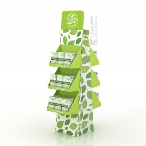 استند محصولات گیاهی اورگانیک